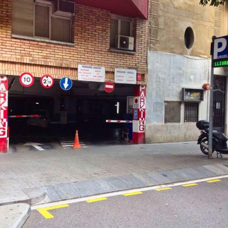 Öffentliches Parkhaus URGELL (Extern) Parkhaus Barcelona