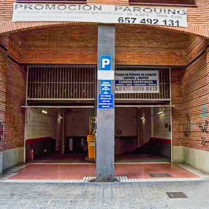 Parking Público RASINA HOUSE (Cubierto) Barcelona