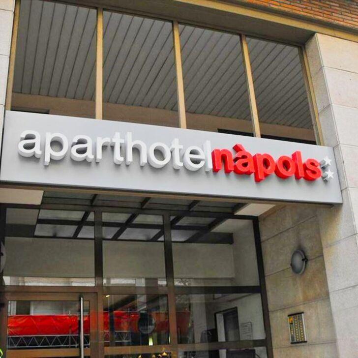 Parcheggio Hotel APARTHOTEL NÀPOLS (Coperto) parcheggio Barcelona