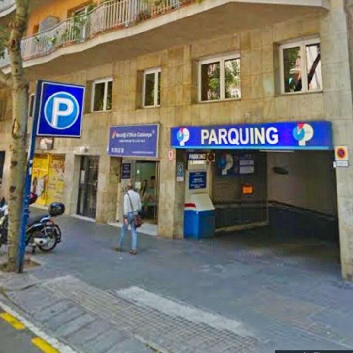 APARCAMENT CONSELL DE CENT BAILÉN Openbare Parking (Overdekt) Parkeergarage Barcelona