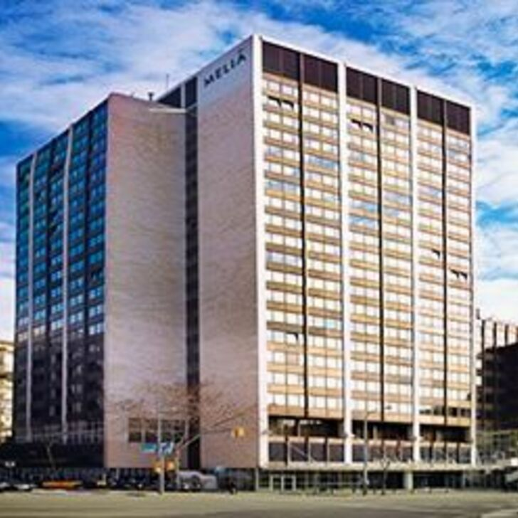 MELIÁ BARCELONA SARRIÀ - APK2 Hotel Parking (Exterieur) Parkeergarage Barcelona