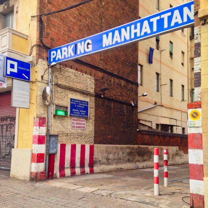 Öffentliches Parkhaus MANHATTAN (Überdacht) Parkhaus Barcelona