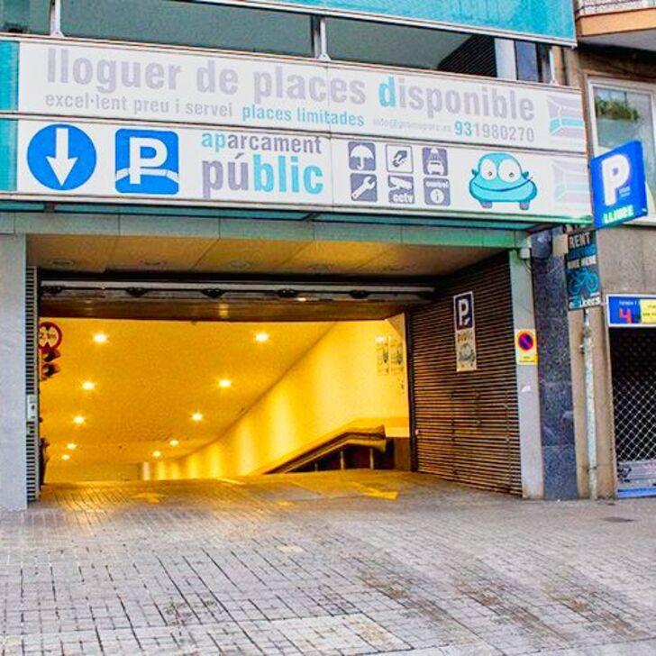 Öffentliches Parkhaus PROMOPARC NH SANTS (Überdacht) Parkhaus Barcelona