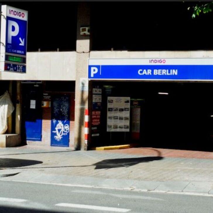 ESTACIÓN DE SANTS - CAR BERLIN Public Car Park (Covered) car park Barcelona