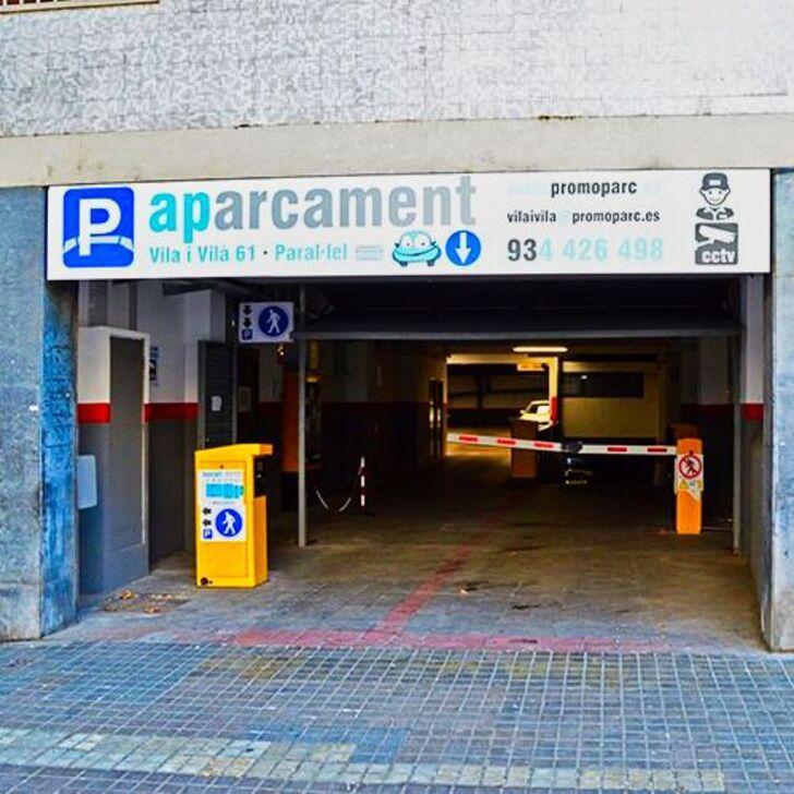 Öffentliches Parkhaus PROMOPARC VILA I VILÀ (Überdacht) Barcelona