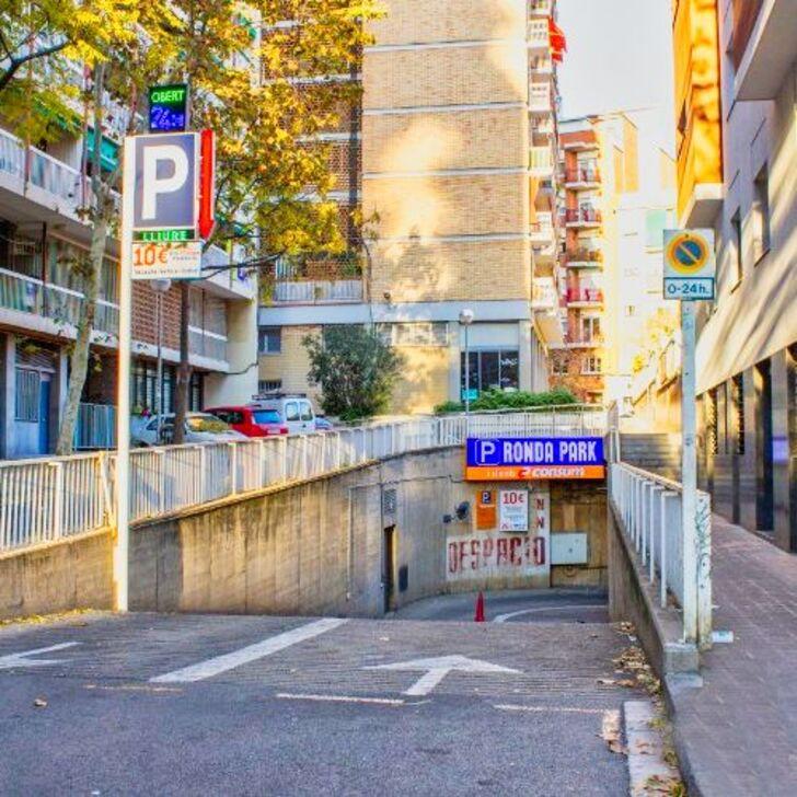 Öffentliches Parkhaus RONDA PARK (Überdacht) Parkhaus Barcelona
