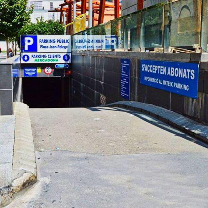 Öffentliches Parkhaus PL. JOAN PELEGRÍ (Überdacht) Barcelona