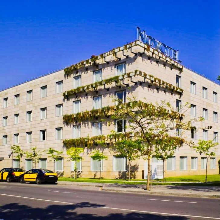 NOVOTEL BARCELONA CORNELLA Hotel Parking (Overdekt) Parkeergarage Cornellà de Llobregat