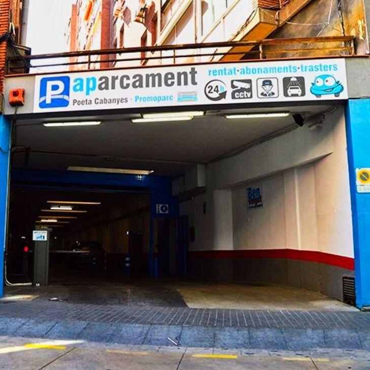 Parcheggio Pubblico PROMOPARC POETA CABANYES (Coperto) Barcelona