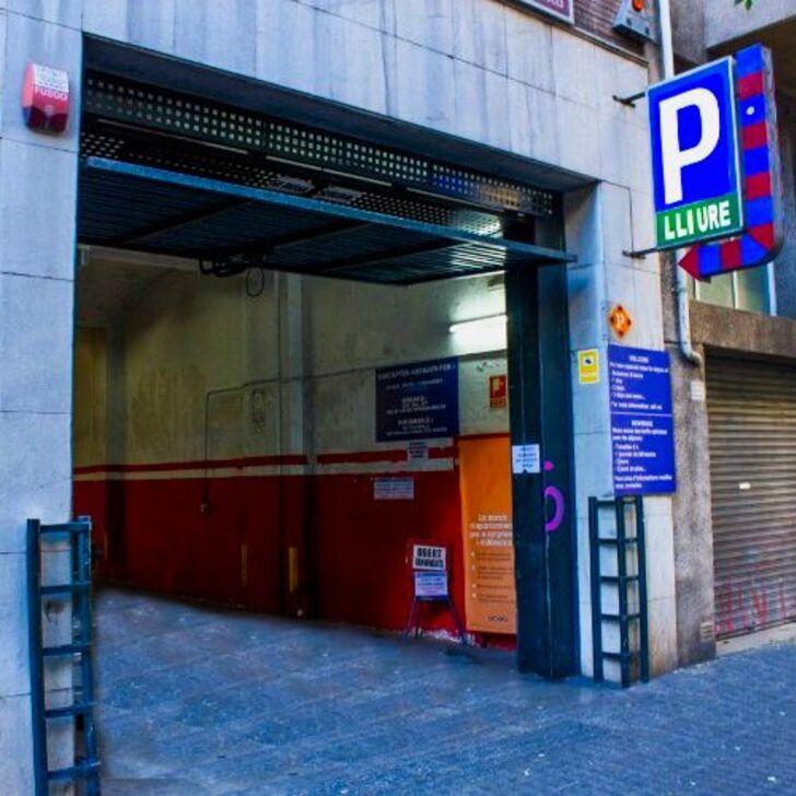 Öffentliches Parkhaus ENTENZA (Überdacht) Parkhaus Barcelona