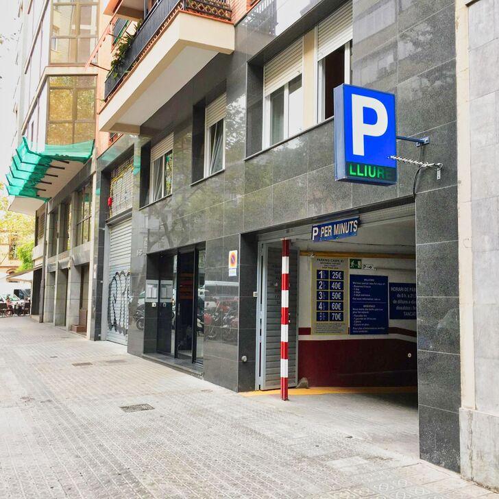 Öffentliches Parkhaus CASP (Überdacht) Parkhaus Barcelona