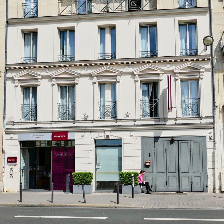 Parking Hotel MERCURE PARIS GARE DU NORD LA FAYETTE (Cubierto) Paris