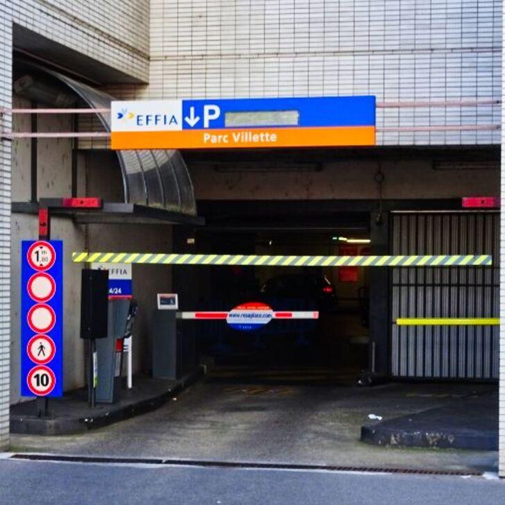 Parking Public EFFIA VILLETTE - PROCHE PART-DIEU (Extérieur) LYON