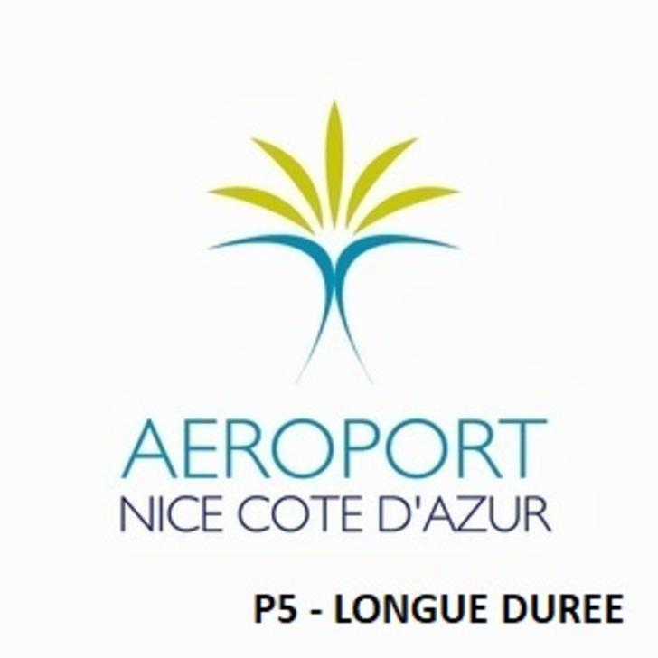 Parking Oficial AÉROPORT DE NICE CÔTE D'AZUR P5 - Larga Duración (Cubierto) Nice
