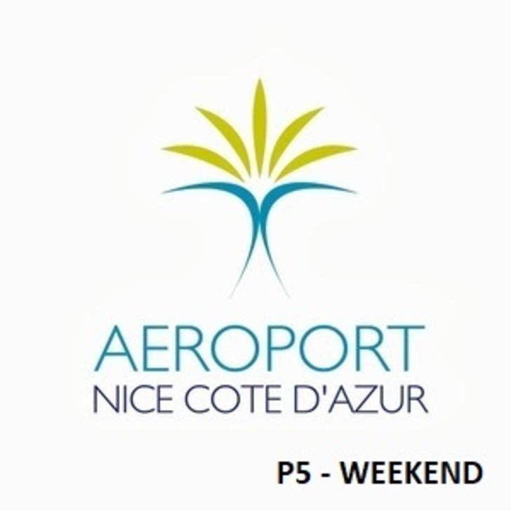 Parque de estacionamento Parking Officiel AÉROPORT DE NICE CÔTE D'AZUR P5 - Week-End (Extérieur) Nice