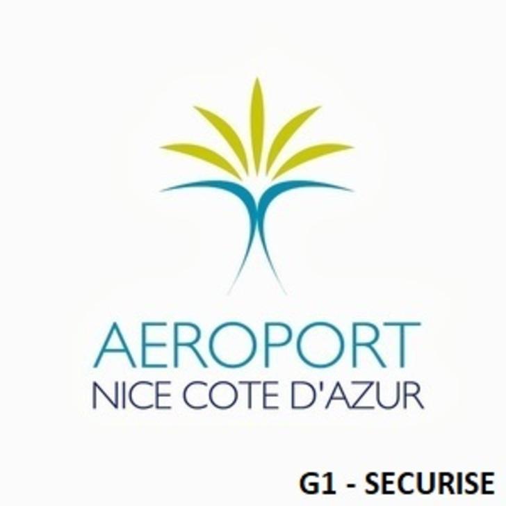 AÉROPORT DE NICE CÔTE D'AZUR G1 - Beveiligd Officiële Parking (Overdekt) Parkeergarage Nice
