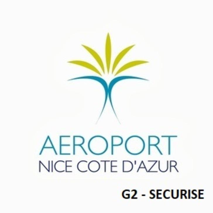 Offiziell Parkhaus G2 - Sicher AÉROPORT DE NICE CÔTE D'AZUR (Überdacht) Parkhaus Nice