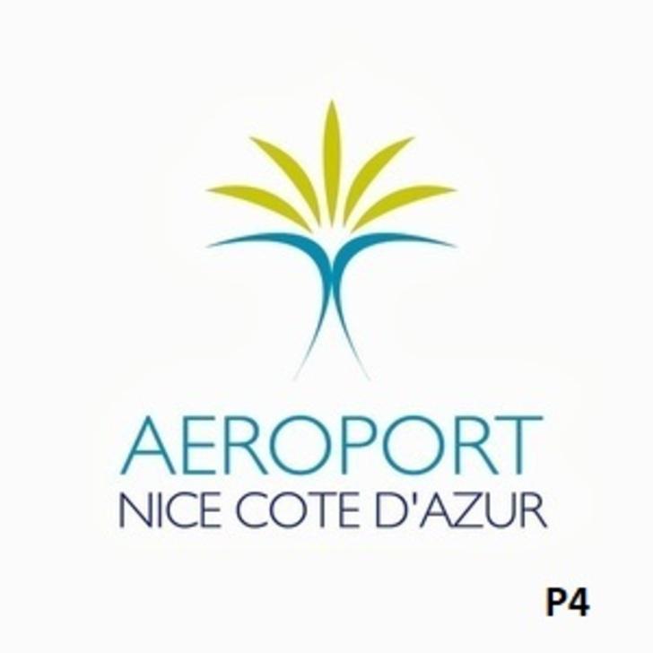 Offiziell Parkhaus P4 AÉROPORT DE NICE CÔTE D'AZUR (Extern) Nice