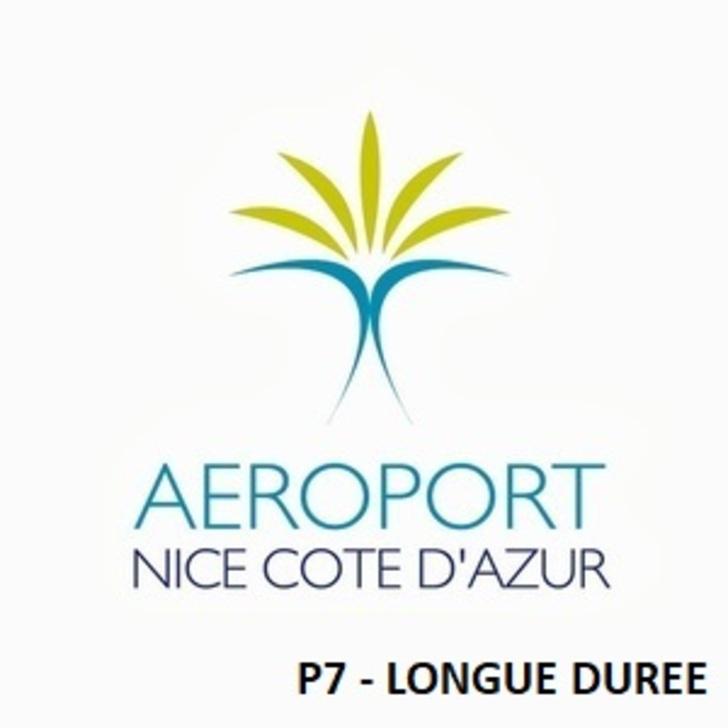 Offiziell Parkhaus P7 - Lange Dauer AÉROPORT DE NICE CÔTE D'AZUR (Überdacht) Parkhaus Nice