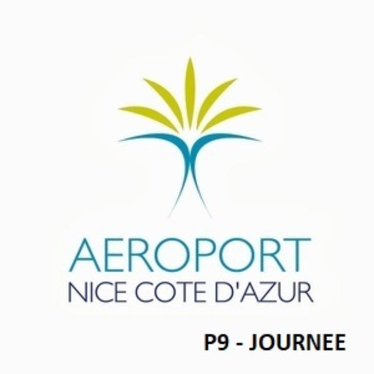 Parque de estacionamento Parking Officiel AÉROPORT DE NICE CÔTE D'AZUR P9 (Extérieur) Nice