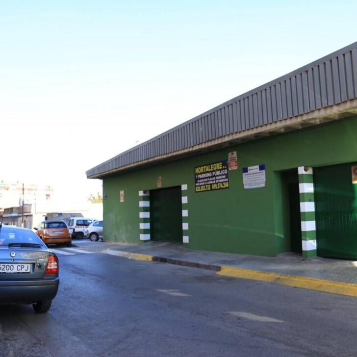 Discount Parkhaus HORTALEGRE (Überdacht) Valencia