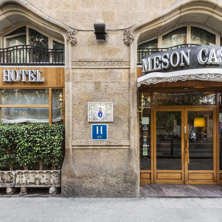 Hotel Parkhaus MESON CASTILLA ATIRAM (Überdacht) Parkhaus Barcelona