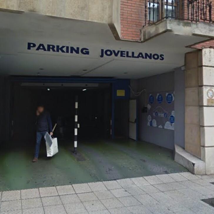 Öffentliches Parkhaus JOVELLANOS 27 (Überdacht) Parkhaus Oviedo