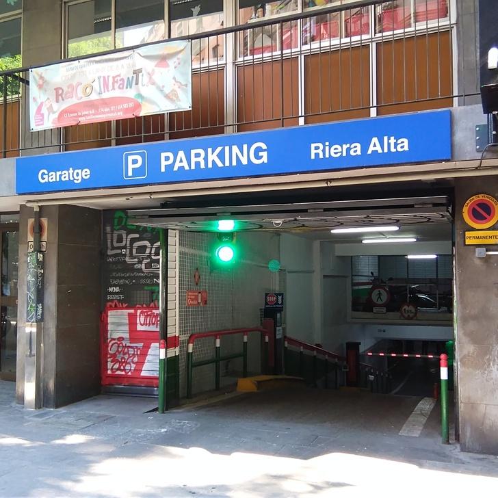 RIERA ALTA Openbare Parking (Overdekt) Barcelona