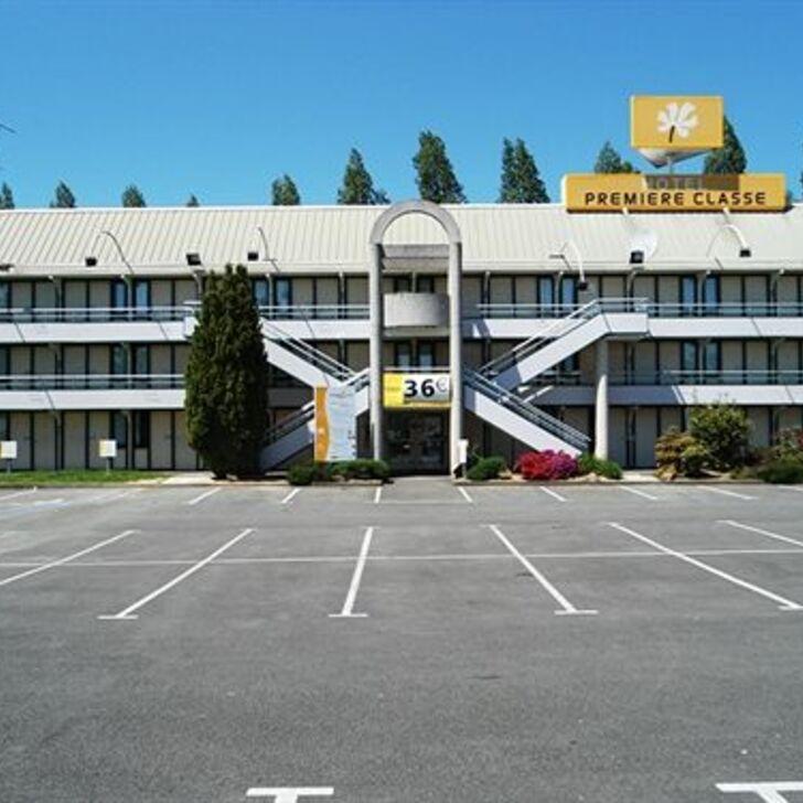 PREMIÈRE CLASSE RENNES EST - CESSON Hotel Parking (Exterieur) Parkeergarage Cesson-Sévigné