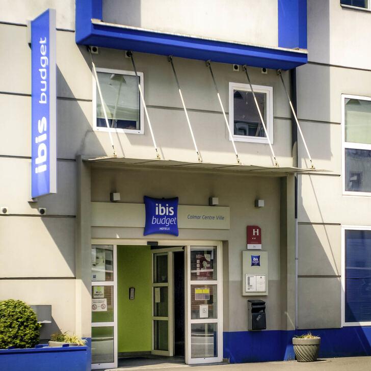 IBIS BUDGET COLMAR CENTRE-VILLE Hotel Parking (Exterieur) Parkeergarage Colmar