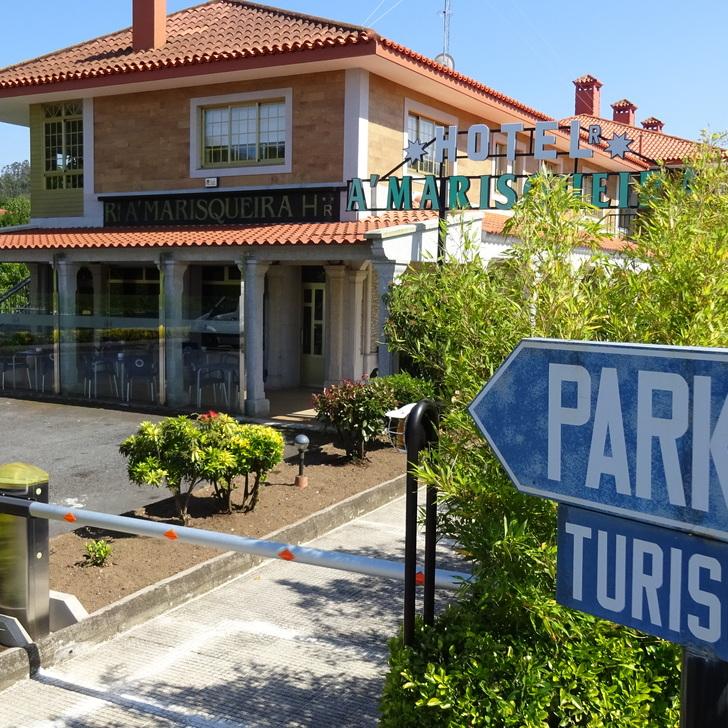 Parking Hôtel A´MARISQUEIRA (Extérieur) O Seixal, A Coruña