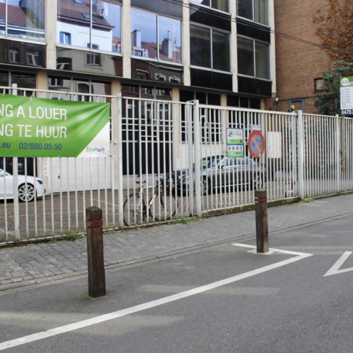 Öffentliches Parkhaus BEPARK LIEDTS VERTE (Extern) Parkhaus Schaerbeek