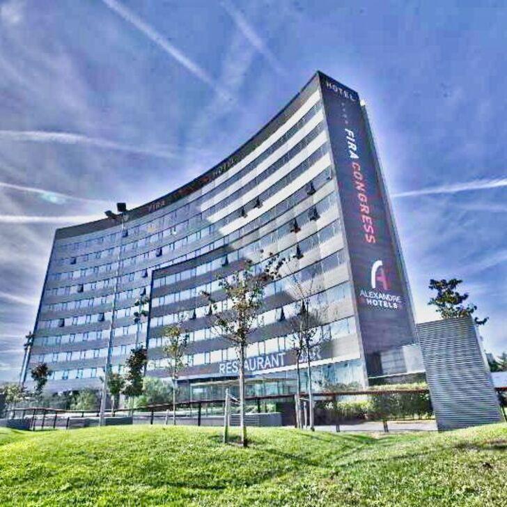 FIRA CONGRESS BARCELONA Hotel Car Park (External) L'Hospitalet de Llobregat