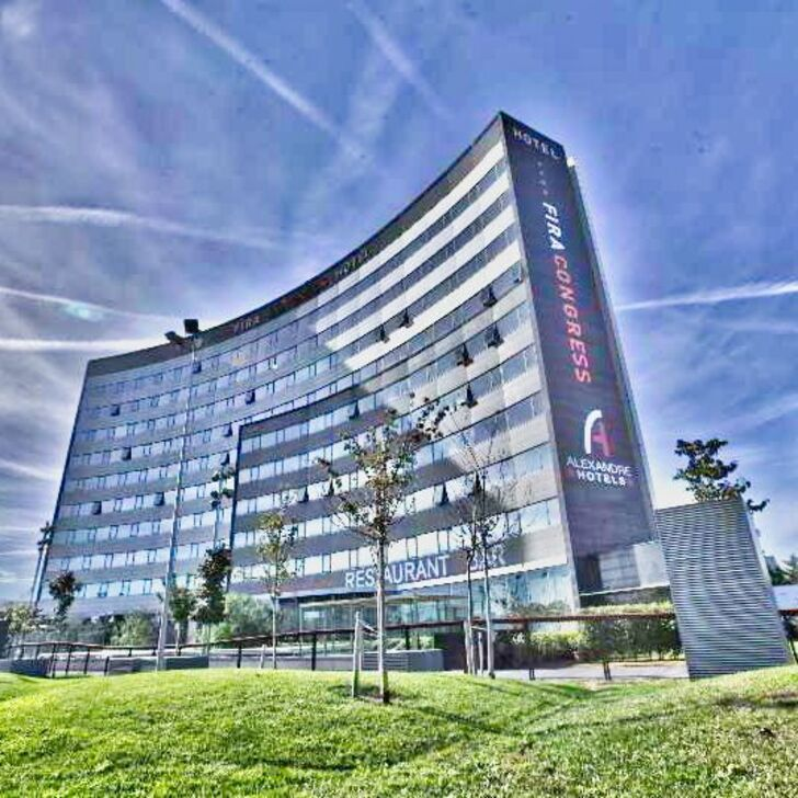 Parcheggio Hotel FIRA CONGRESS BARCELONA (Esterno) L'Hospitalet de Llobregat