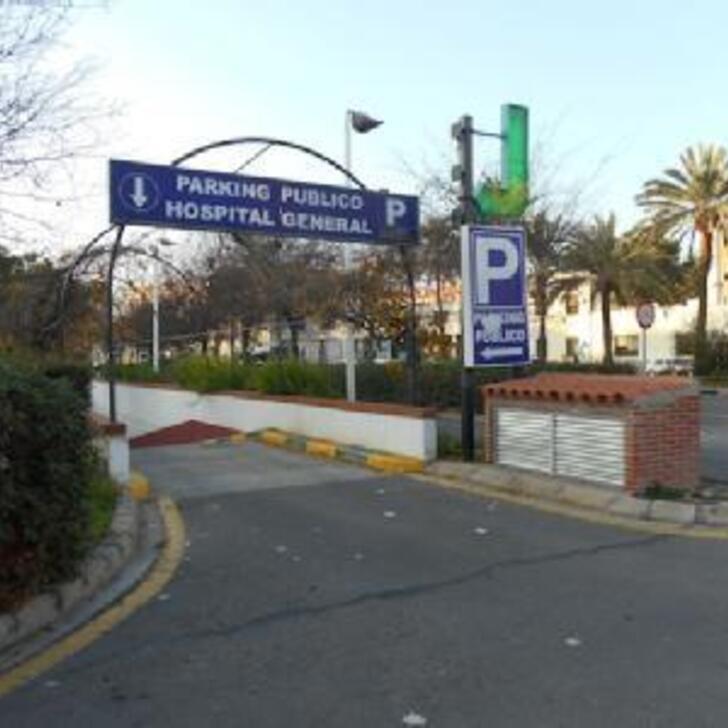 Öffentliches Parkhaus HOSPITAL GENERAL (Überdacht) Parkhaus Valencia