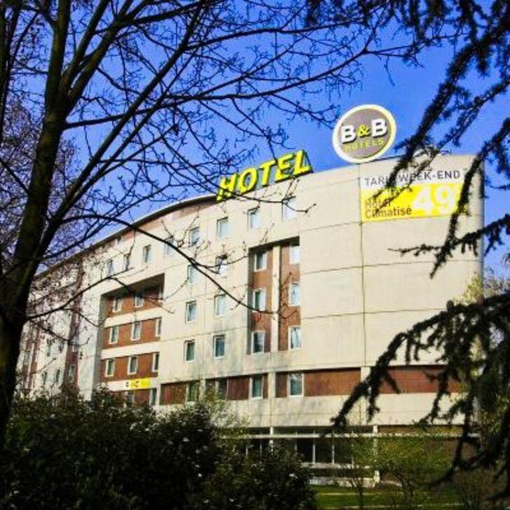 B&B PARIS MALAKOFF PARC DES EXPOSITIONS Hotel Parking (Overdekt) Parkeergarage Malakoff