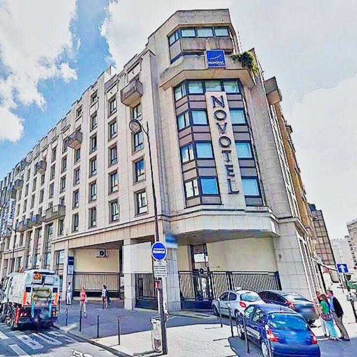 Hotel Parkhaus NOVOTEL PARIS VAUGIRARD MONTPARNASSE (Überdacht) Parkhaus Paris