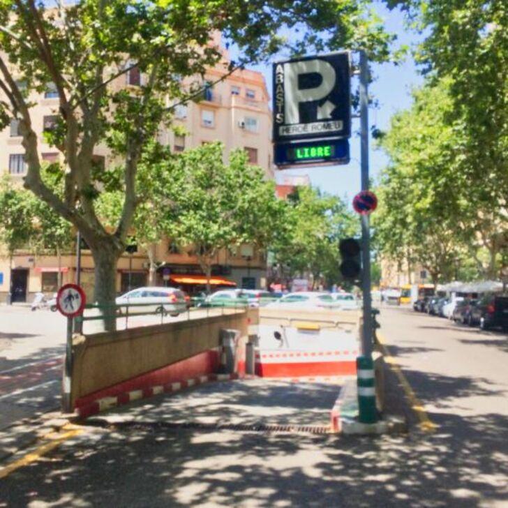 Öffentliches Parkhaus ABASTOS (Überdacht) Parkhaus Valencia