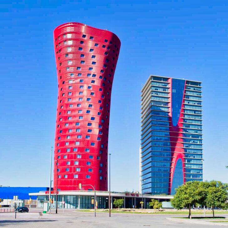 SANTOS PORTA FIRA Hotel Parking (Overdekt) L'Hospitalet de Llobregat, Barcelona