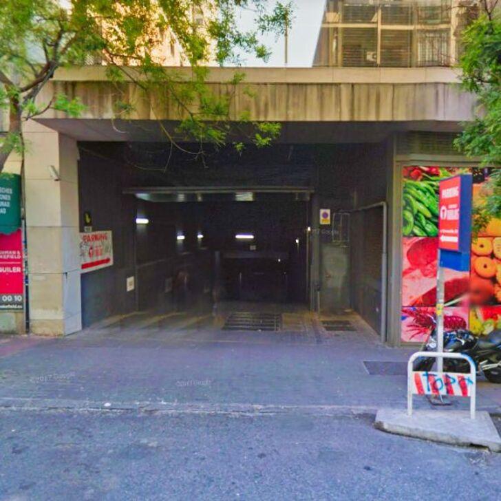 Öffentliches Parkhaus MERCADO TORRIJOS (Überdacht) Madrid