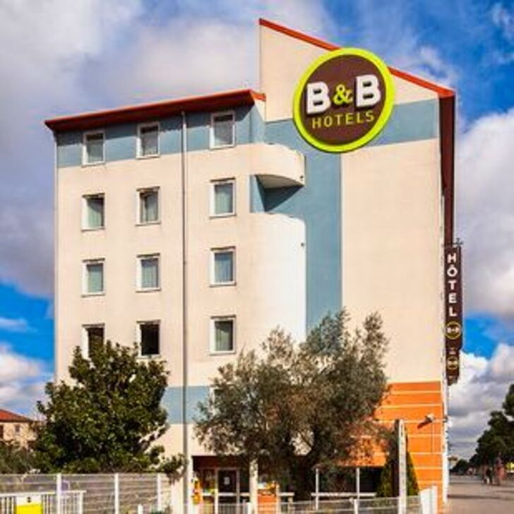 B&B ORLY CHEVILLY-LARUE Hotel Parking (Exterieur) Parkeergarage Chevilly-Larue