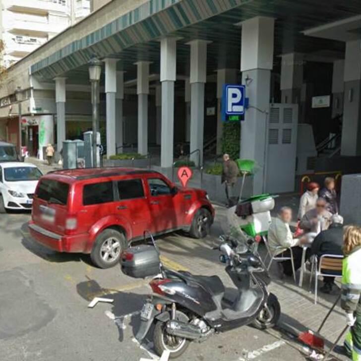 Öffentliches Parkhaus CARMELITAS (Überdacht) Parkhaus Valencia