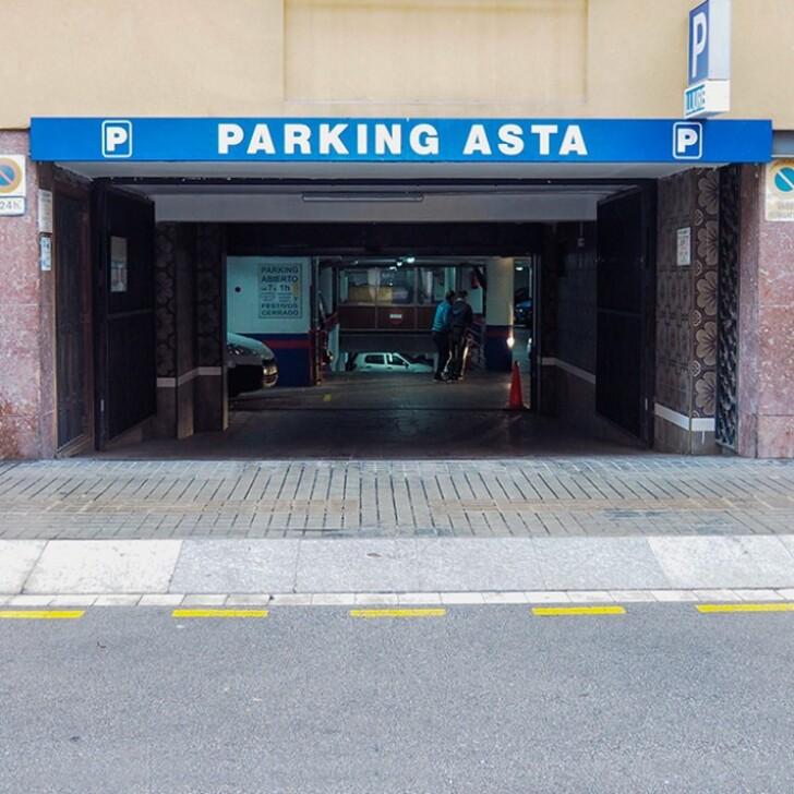 Öffentliches Parkhaus SAN HERMENEGILDO (Überdacht) Barcelona
