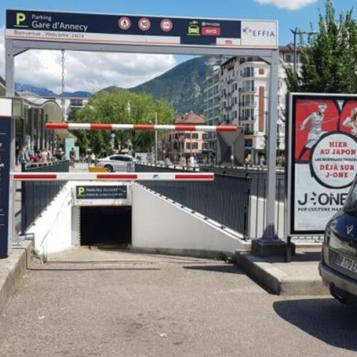 Parking Officiel EFFIA GARE D'ANNECY (Couvert) ANNECY