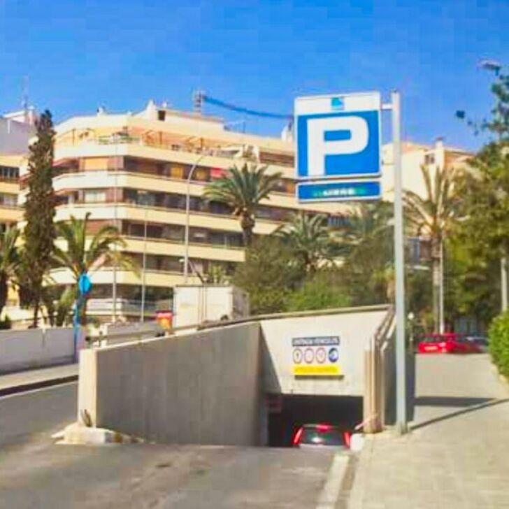 Öffentliches Parkhaus LOPEZ OSABA (Überdacht) Alicante