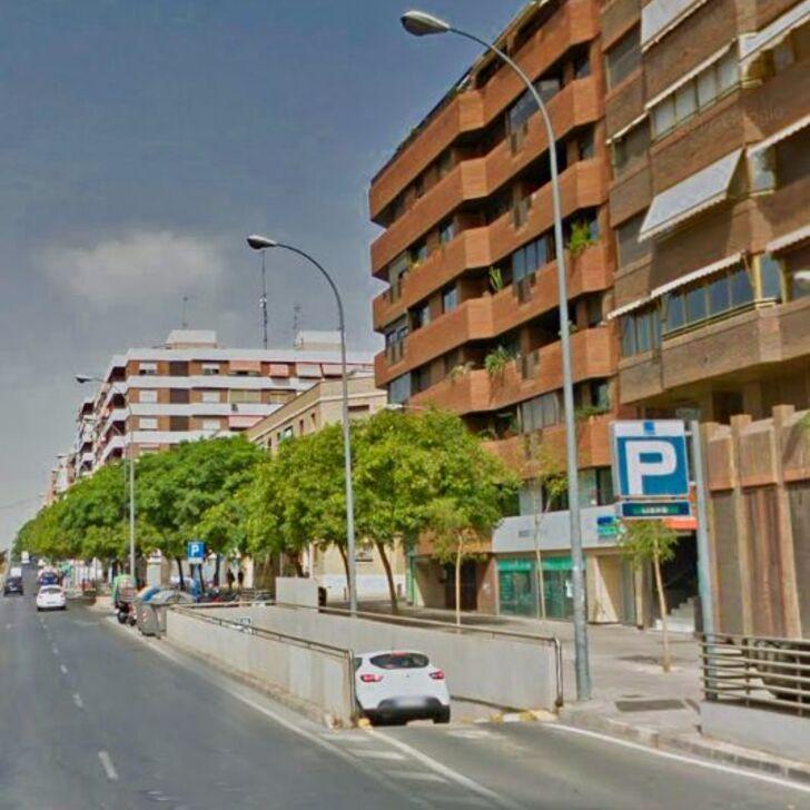 Öffentliches Parkhaus CATEDRATICO SOLER (Überdacht) Alicante
