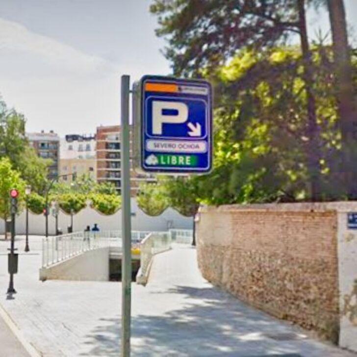 Öffentliches Parkhaus SEVERO OCHOA (Überdacht) Parkhaus Valencia