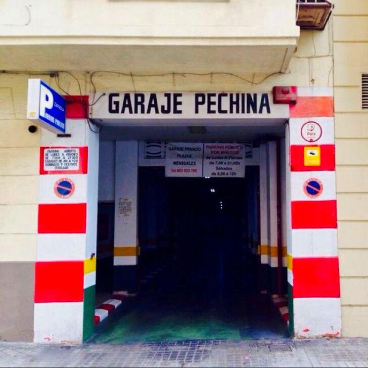 Öffentliches Parkhaus GARAJE PECHINA (Überdacht) Valencia