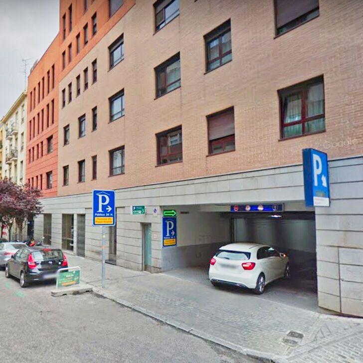 Öffentliches Parkhaus IC PONZANO (Überdacht) Madrid
