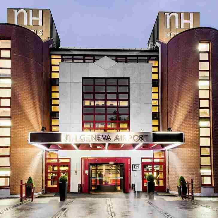 Hotel Parkhaus NH GENEVA AIRPORT HOTEL (Überdacht) Meyrin